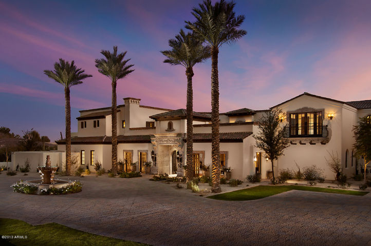 Arizona biggest mansions on the market and some of the for Santa barbara luxury homes for sale
