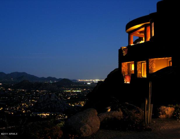 MILLION DOLLAR VIEWS City Light Vs Desert Mountain Arizona Luxury Homes And