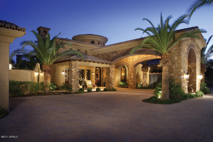 The fab five luxury homes sales in arizona february 2012 for Mansions for sale in scottsdale az