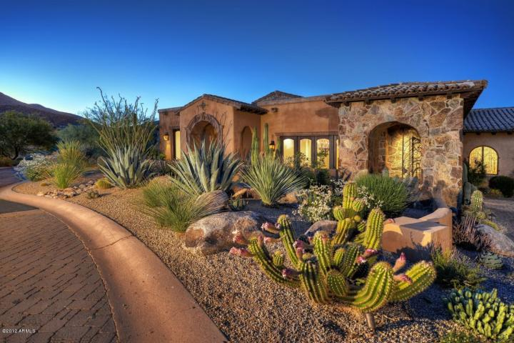 Golf from your back yard finish this mansion city light for 13th floor scottsdale az