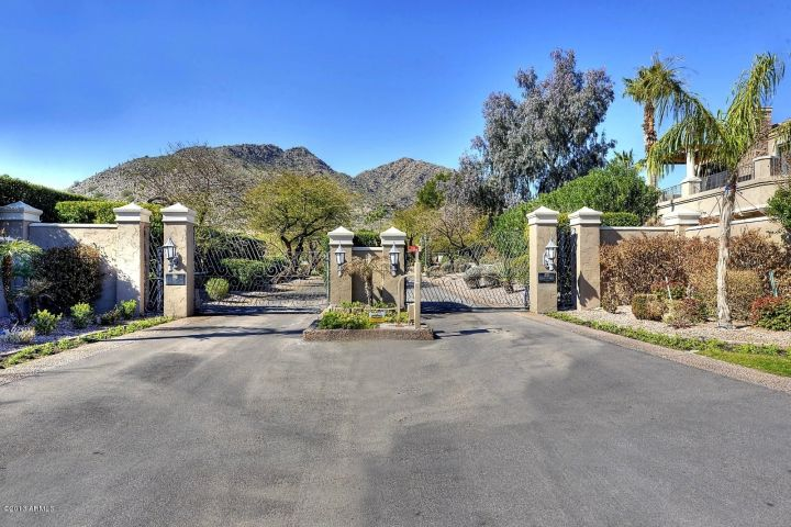 Phoenician Estates gate