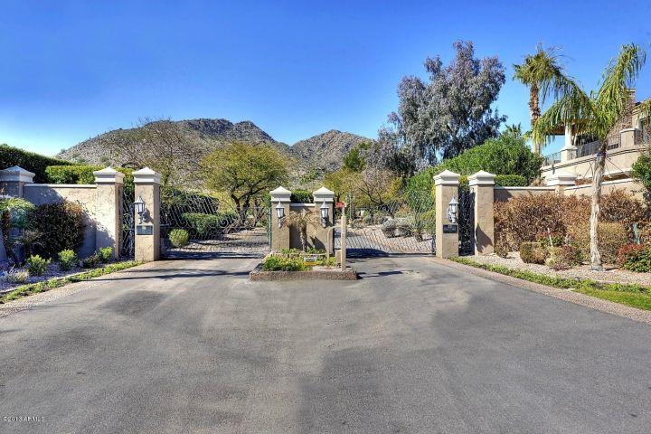 Phoenician Estates gate