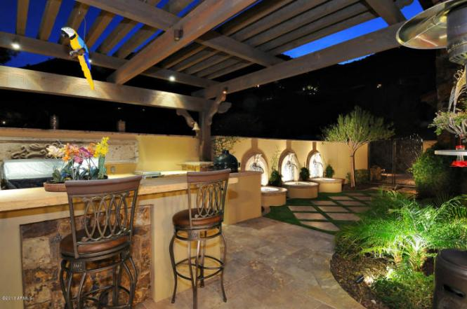 BBQ Grill - Home Price $6,500,000