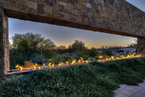 FirePit Entrance - Home Price $3,700,000