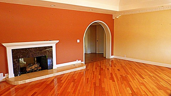 Family Room - 2 Way Fireplace