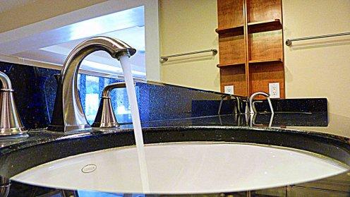 Double Sinks Master Bathroom