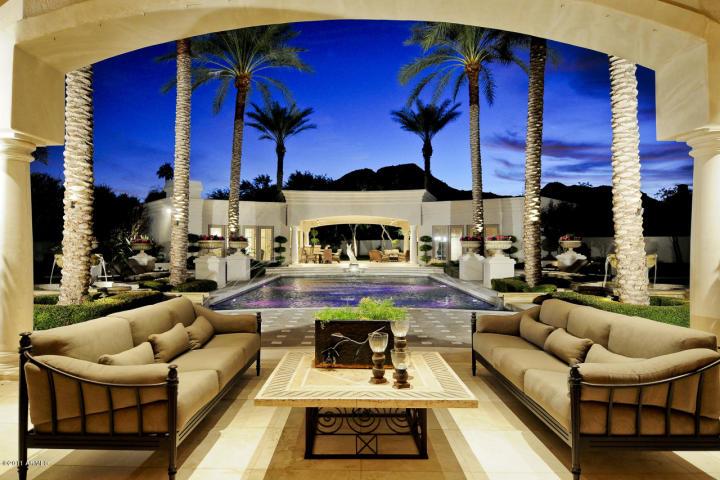 Patio Overlooking Pool