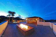 View Deck FirePit - Home Price $16,000,000