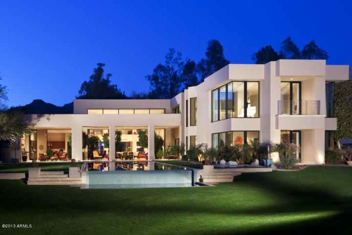 Glimpse most expensive homes sold during august paradise for Modern homes arizona