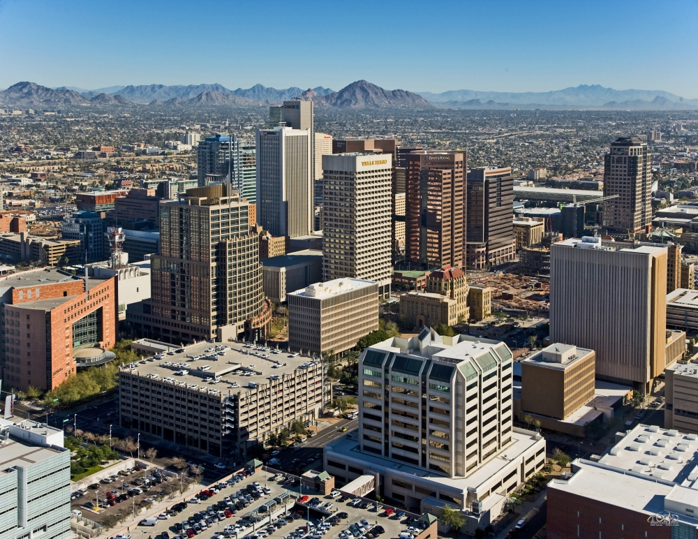 Downtown_Phoenix_Aerial_Looking_Northeast
