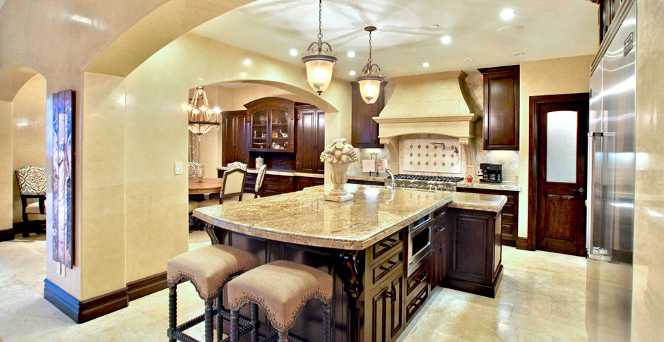 7 bachelorette bachelor pads in az your guide to the for Custom kitchen designer