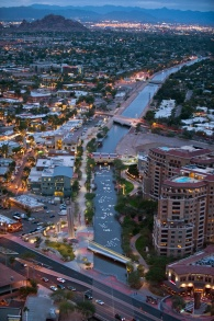 Aerial-of-Canal-Art-in-Scottsdale