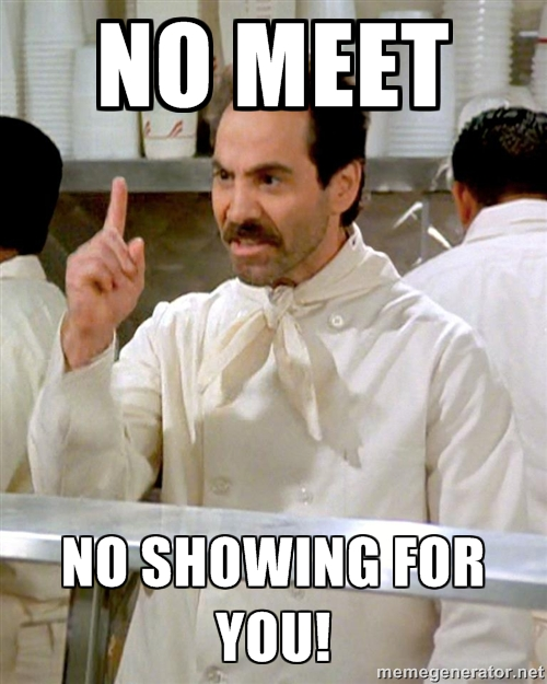 No Meet