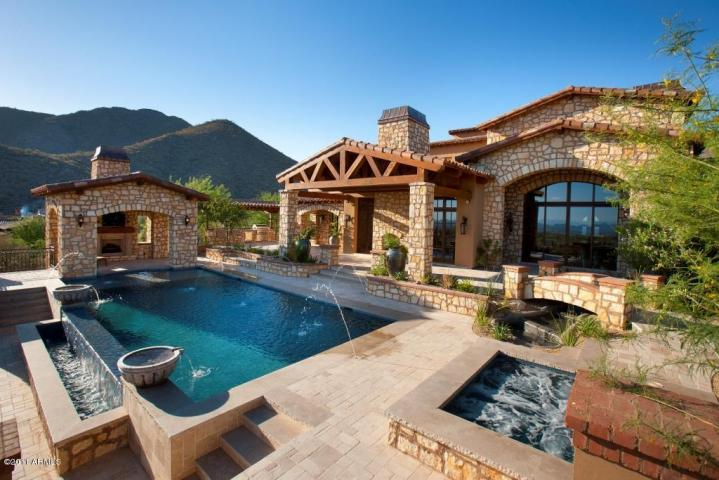 7 2m jaw dropping silverleaf spanish estate finally sells for Arizona luxury homes