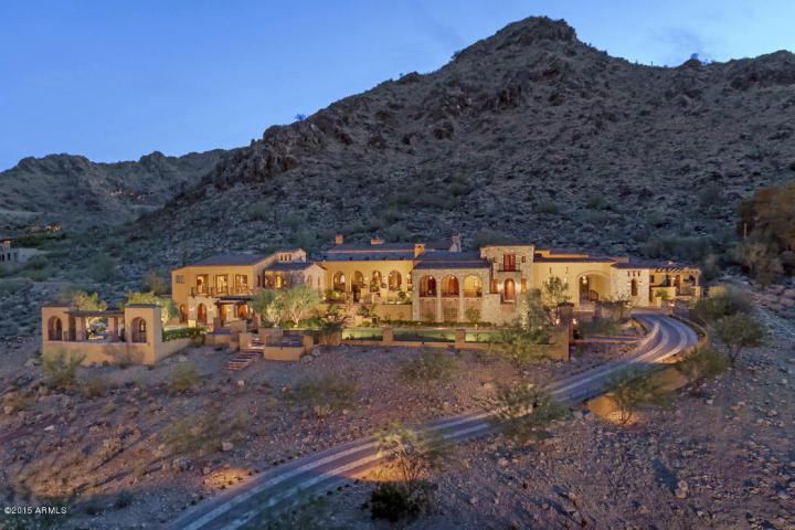$11 Million Mummy Mountain Sprawling Estate