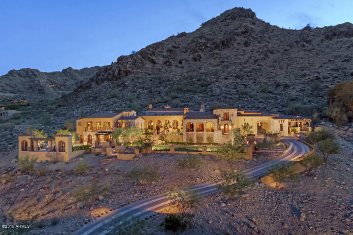 $11 Million Mummy Mountain Sprawling Estate