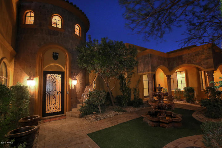 $2.2 million Mediterranean Villa in FireRock 8