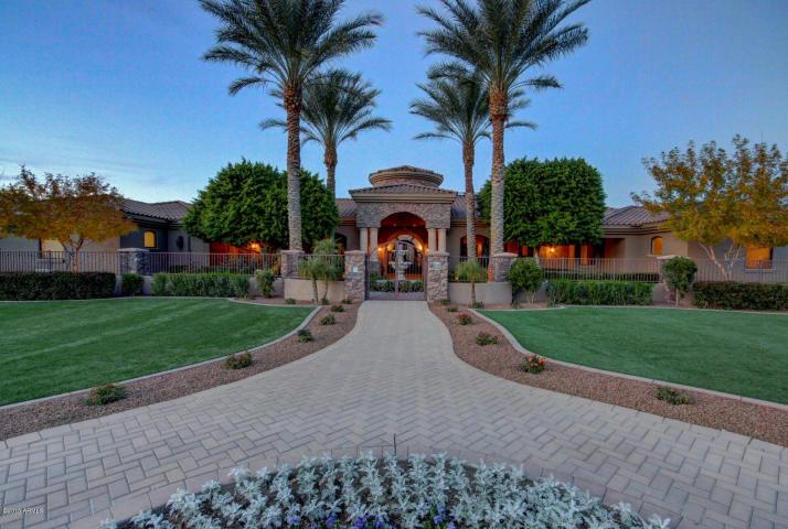 Damion Easley Glendale Mega Mansion 1