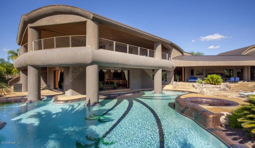 Over The Top Eccentric Scottsdale Contemporary 6