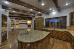 Block construction with all natural stone exterior home in Whisper Rock 15