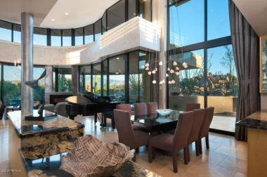 Contemporary nestled in the boulders of Tucson AZ (Private) Stone Canyon golf community 10