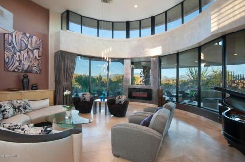 Contemporary nestled in the boulders of Tucson AZ (Private) Stone Canyon golf community 11