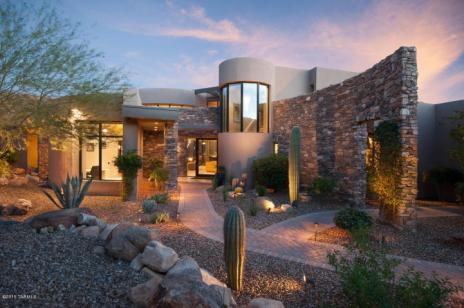 Contemporary nestled in the boulders of Tucson AZ (Private) Stone Canyon golf community 12