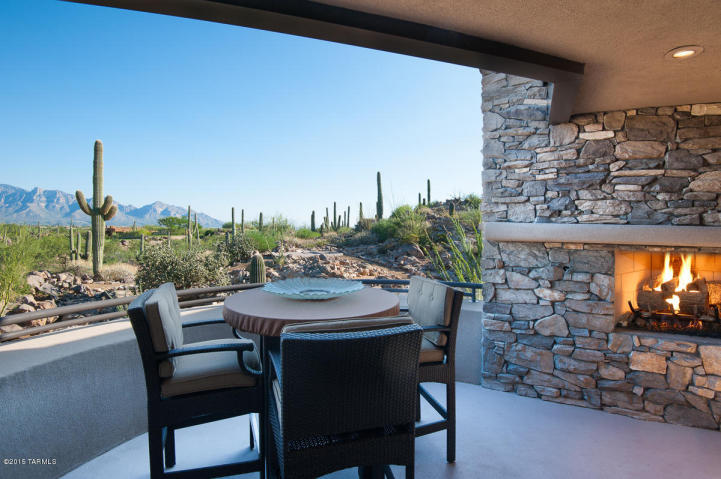 Contemporary nestled in the boulders of Tucson AZ (Private) Stone Canyon golf community 3