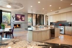 Contemporary nestled in the boulders of Tucson AZ (Private) Stone Canyon golf community 9