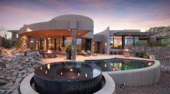 Contemporary nestled in the boulders of Tucson AZ (Private) Stone Canyon golf community