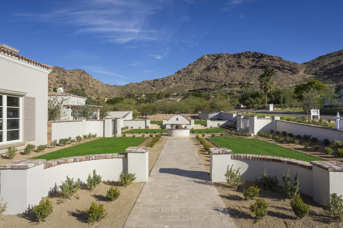 Nearing Completion Mark Candelaria design home in Paradise Valley lists for $4.4M 1