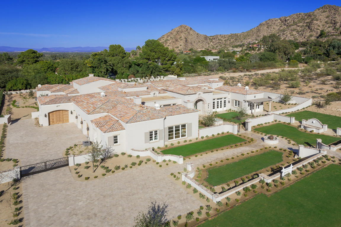 Nearing Completion Mark Candelaria design home in Paradise Valley lists for $4.4M