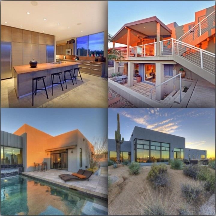 Just a couple of cool bachelor pads on fleek in the Desert X
