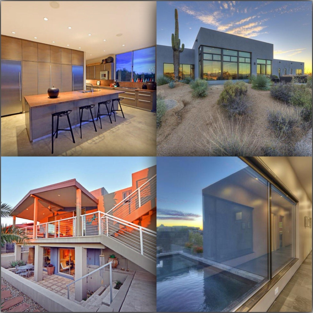 Just a couple of cool bachelor pads on fleek in the Desert Z