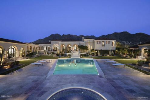 Silverleaf Scottsdale CONTEMPORARY MEDITERRANEAN GLAMOUR Estate