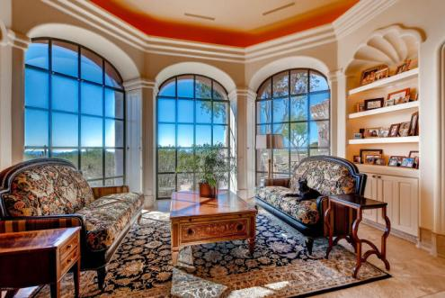 World class Scottsdale Estate on 20 Acres & 35+ car auto show garage 10