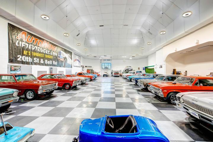 World class Scottsdale Estate on 20 Acres & 35+ car auto show garage 14