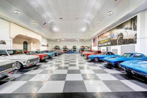 World class Scottsdale Estate on 20 Acres & 35+ car auto show garage 15