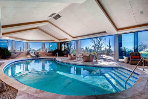 World class Scottsdale Estate on 20 Acres & 35+ car auto show garage 16
