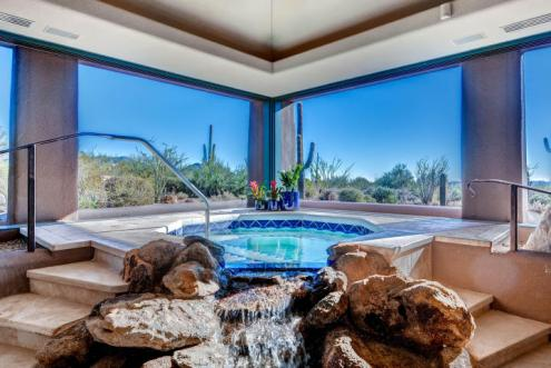 World class Scottsdale Estate on 20 Acres & 35+ car auto show garage 17