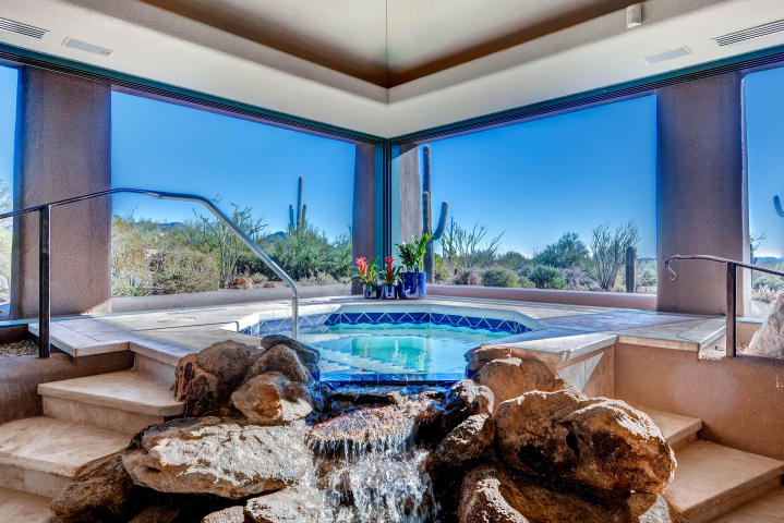 World class Scottsdale Estate on 20 Acres & 35+ car auto show garage 17