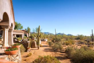 World class Scottsdale Estate on 20 Acres & 35+ car auto show garage 18