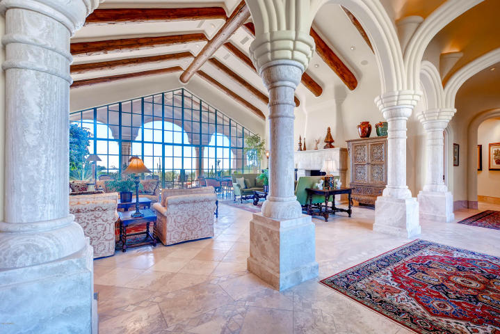 World class Scottsdale Estate on 20 Acres & 35+ car auto show garage 2