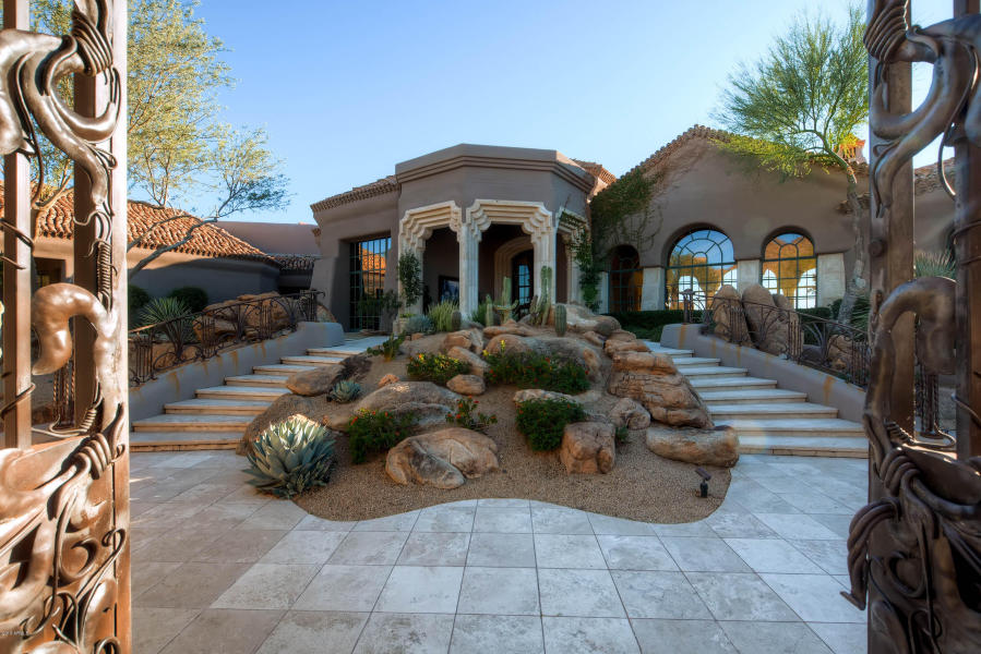 World class Scottsdale Estate on 20 Acres & 35+ car auto show garage