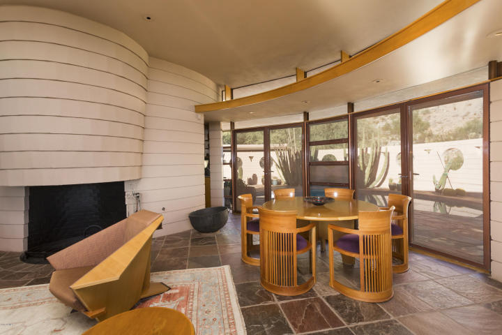"""the Lykes Home"" an original (and last) Frank Lloyd Wright designed home 9"
