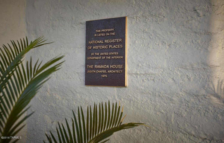 """""""The Ramada House"""" a design by Tucson architect Judith Chafee 1"""