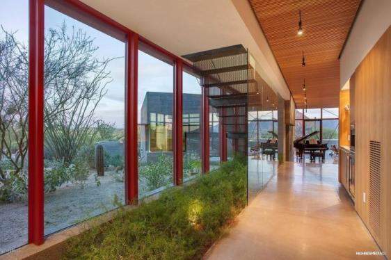 $4.2M stunning modern home in Estancia combines world-class architecture, lacks nothing. 7