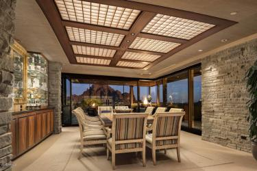 Contemporary house of steel & wood on rare hillside flat Paradise Valley grounds asking a whopping $7.5M 10