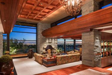 Contemporary house of steel & wood on rare hillside flat Paradise Valley grounds asking a whopping $7.5M 2