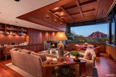 Contemporary house of steel & wood on rare hillside flat Paradise Valley grounds asking a whopping $7.5M 6